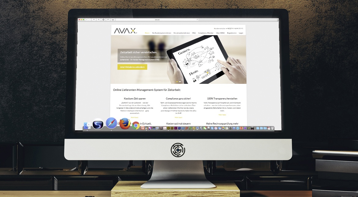 AVAX CI/CD, Website